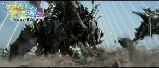 变形金刚4 钢索在电影中的变形过程