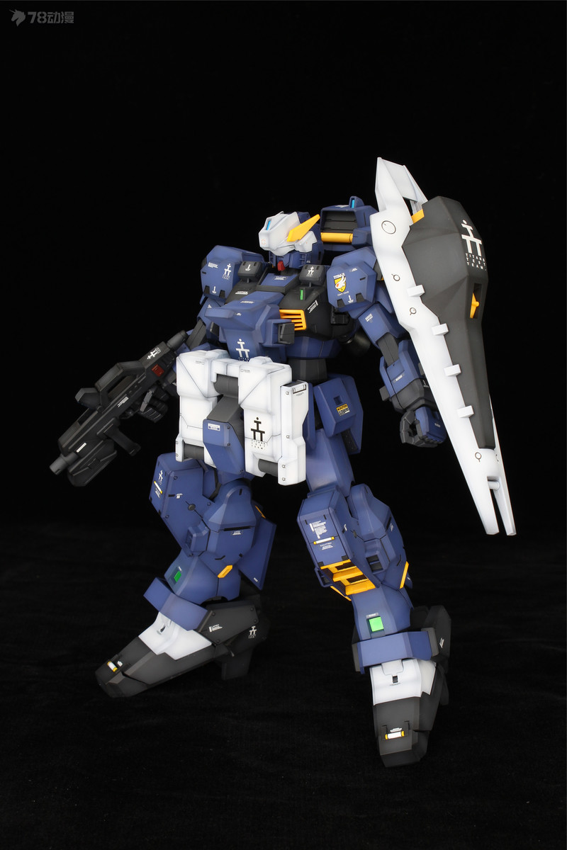 GUNDAM MG RX-121-1 Gundam TR-1 HAZEL Custom   FF-X29A G-PARTS HRUDUDU (8).jpg