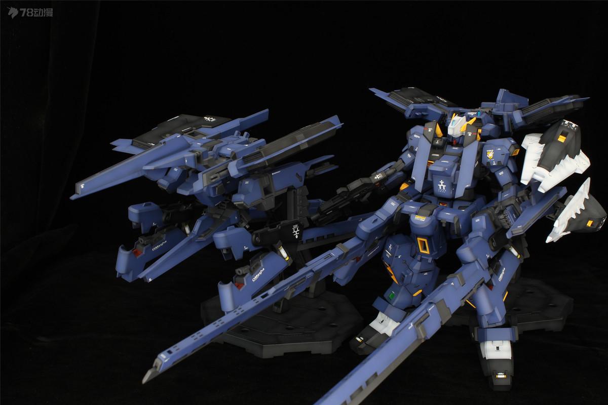 GUNDAM MG RX-121-1 Gundam TR-1 HAZEL Custom   FF-X29A G-PARTS HRUDUDU (20).jpg