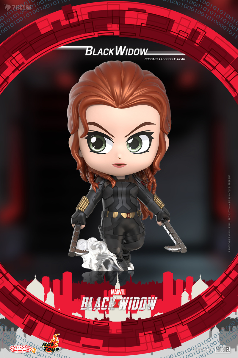 Hot Toys - Black Widow - Black Widow Cosbaby (S) Bobble-Head_PR1.jpg