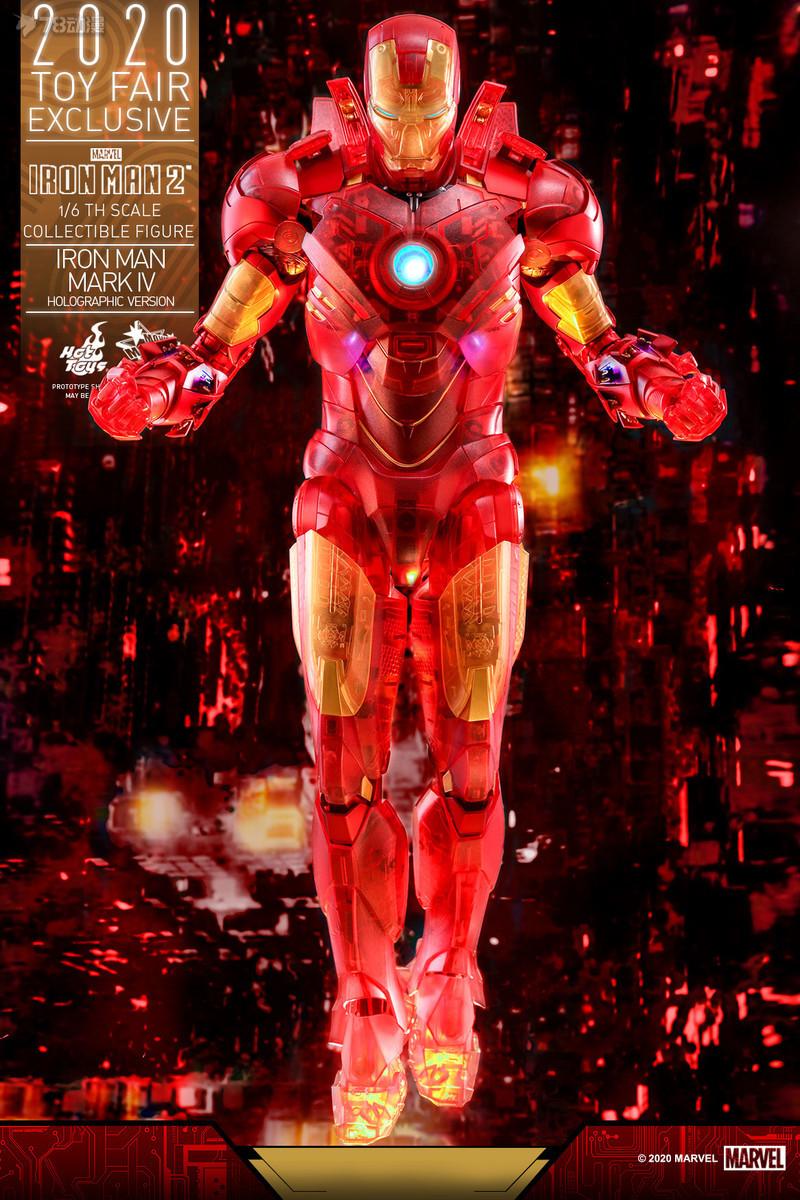 Hot Toys - IM2 - Iron Man Mark IV (Holographic Version) collectible figure_PR3.jpg
