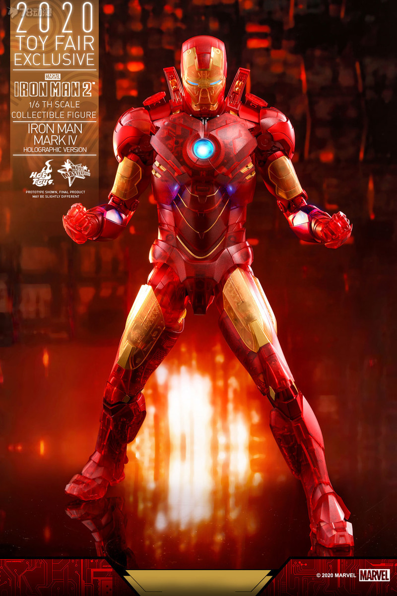 Hot Toys - IM2 - Iron Man Mark IV (Holographic Version) collectible figure_PR1.jpg