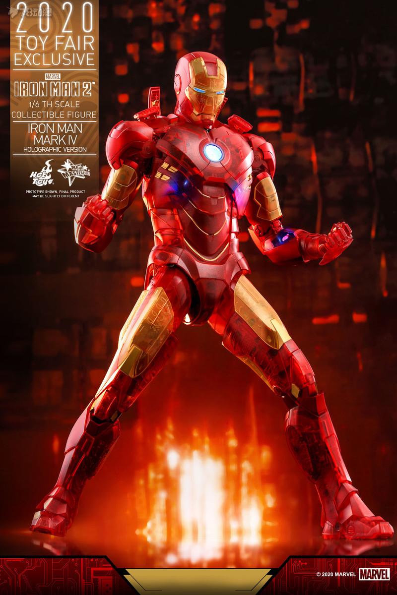 Hot Toys - IM2 - Iron Man Mark IV (Holographic Version) collectible figure_PR2.jpg