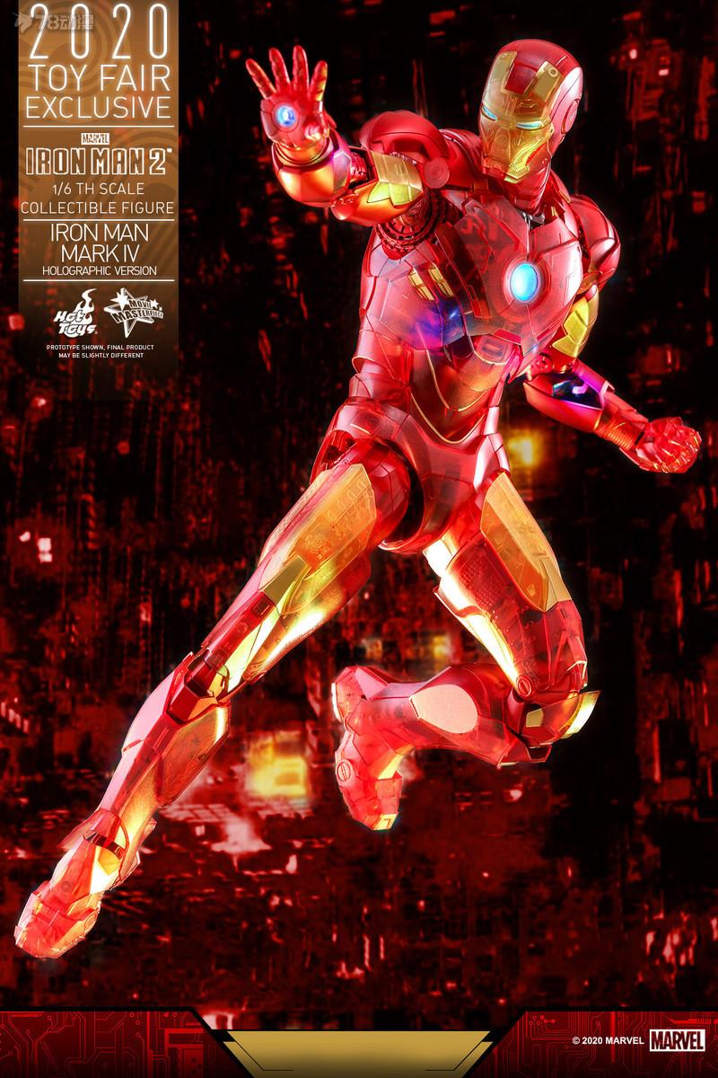 Hot Toys - IM2 - Iron Man Mark IV (Holographic Version) collectible figure_PR5.jpg