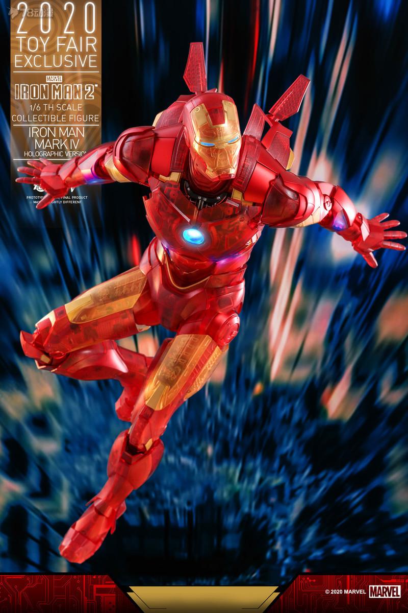 Hot Toys - IM2 - Iron Man Mark IV (Holographic Version) collectible figure_PR6.jpg