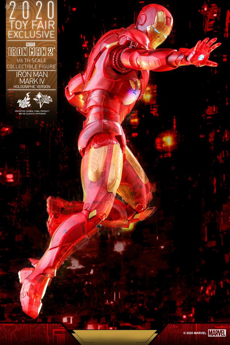Hot Toys - IM2 - Iron Man Mark IV (Holographic Version) collectible figure_PR8.jpg