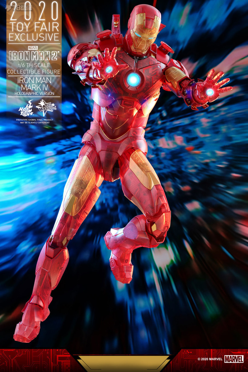 Hot Toys - IM2 - Iron Man Mark IV (Holographic Version) collectible figure_PR9.jpg