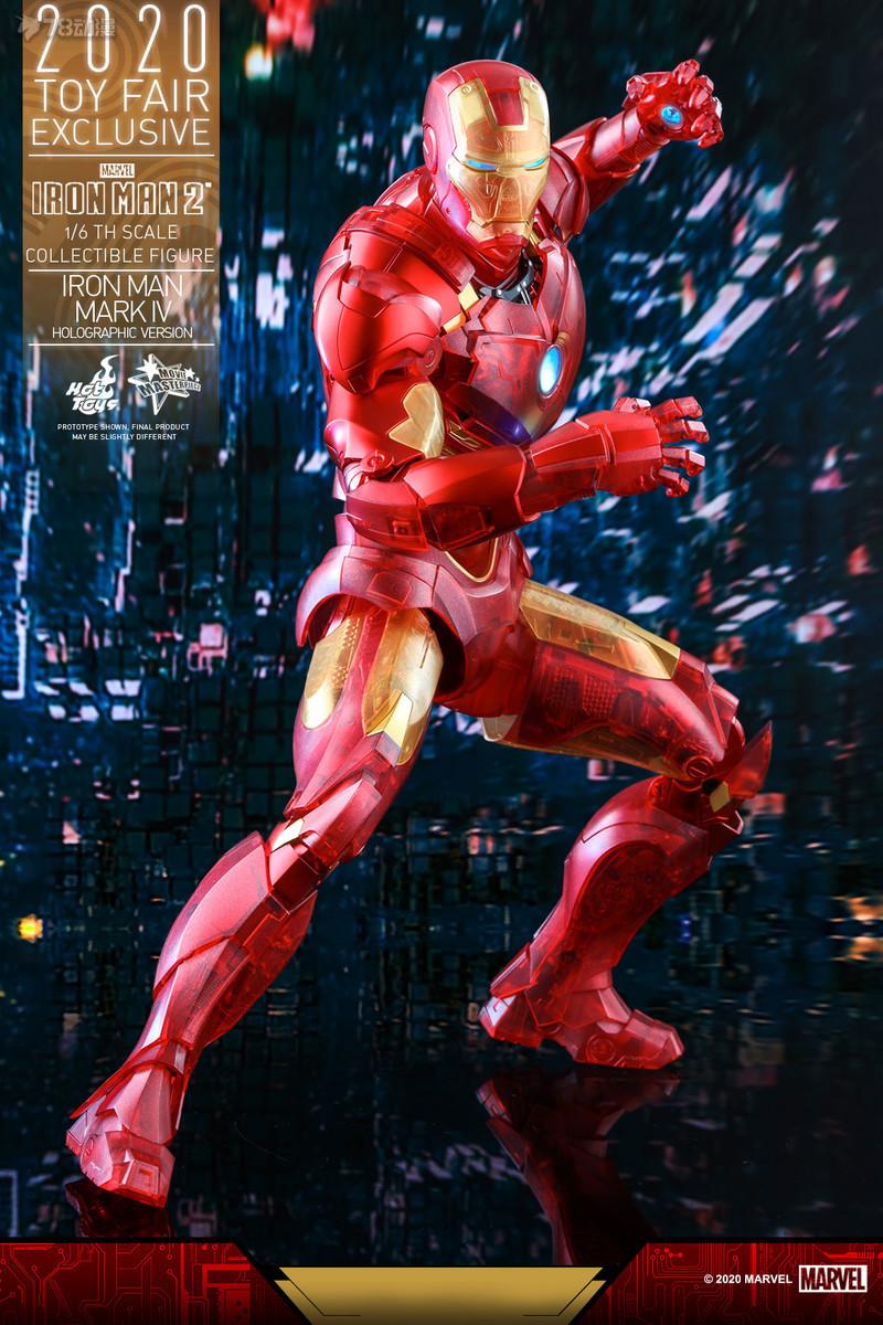 Hot Toys - IM2 - Iron Man Mark IV (Holographic Version) collectible figure_PR12.jpg