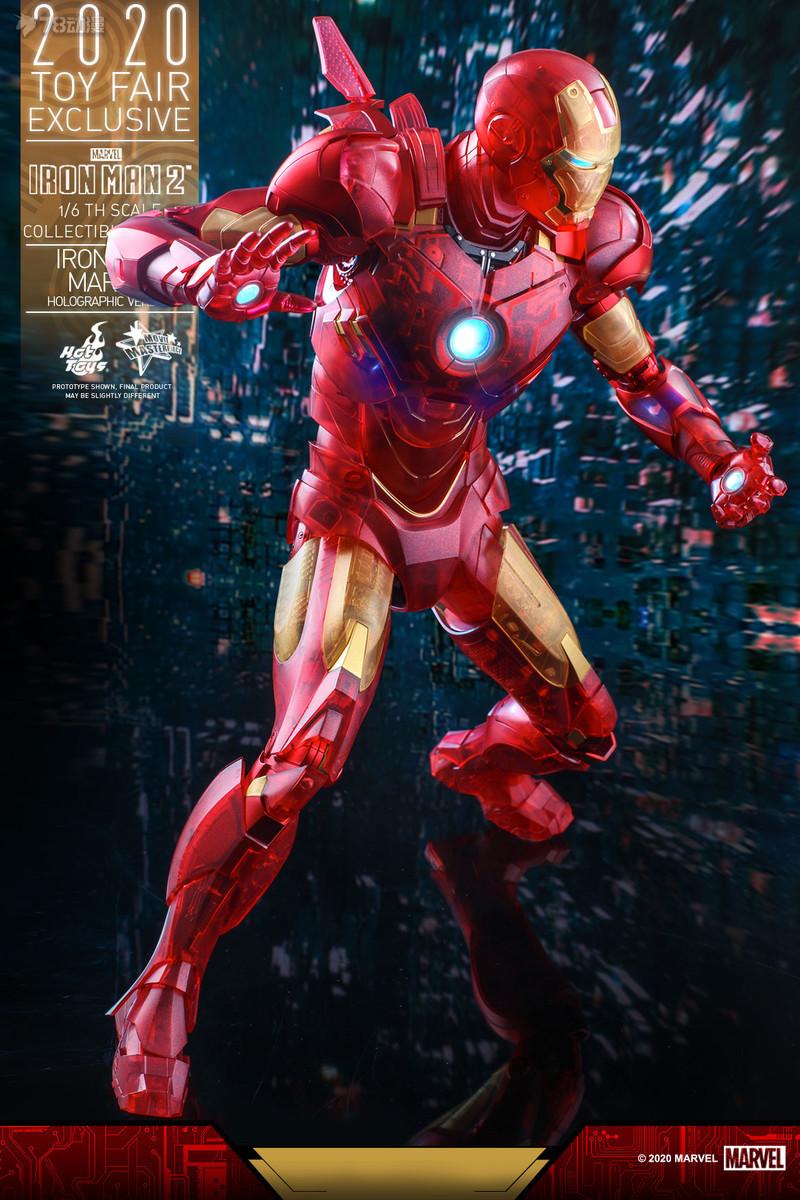 Hot Toys - IM2 - Iron Man Mark IV (Holographic Version) collectible figure_PR13.jpg