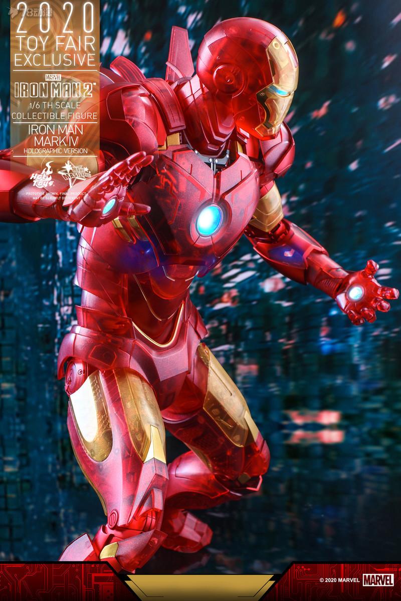 Hot Toys - IM2 - Iron Man Mark IV (Holographic Version) collectible figure_PR14.jpg