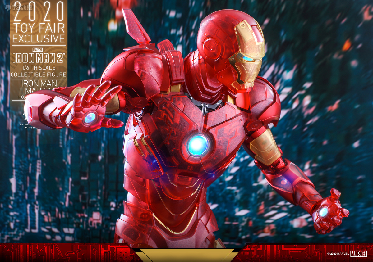 Hot Toys - IM2 - Iron Man Mark IV (Holographic Version) collectible figure_PR17.jpg