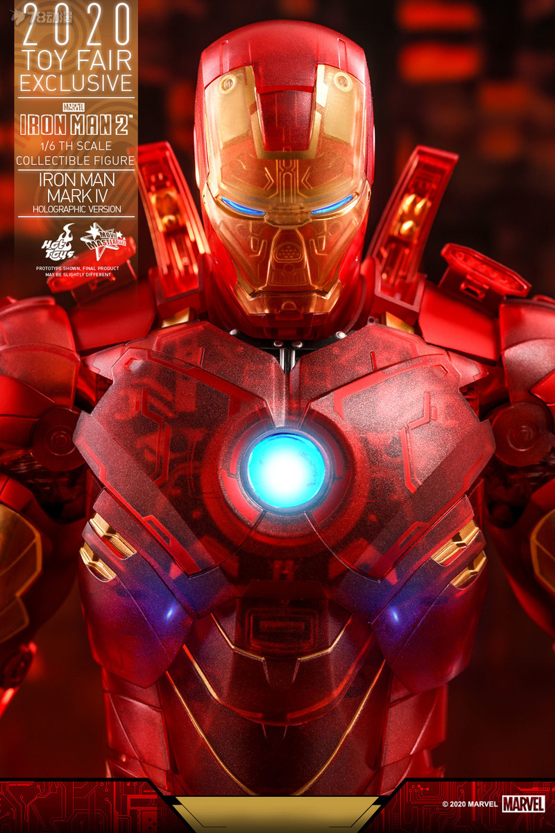 Hot Toys - IM2 - Iron Man Mark IV (Holographic Version) collectible figure_PR15.jpg