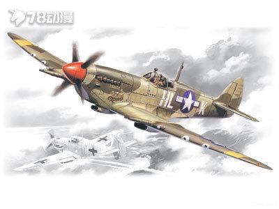 icm飞机拼装模型系列 1/48飞机图片