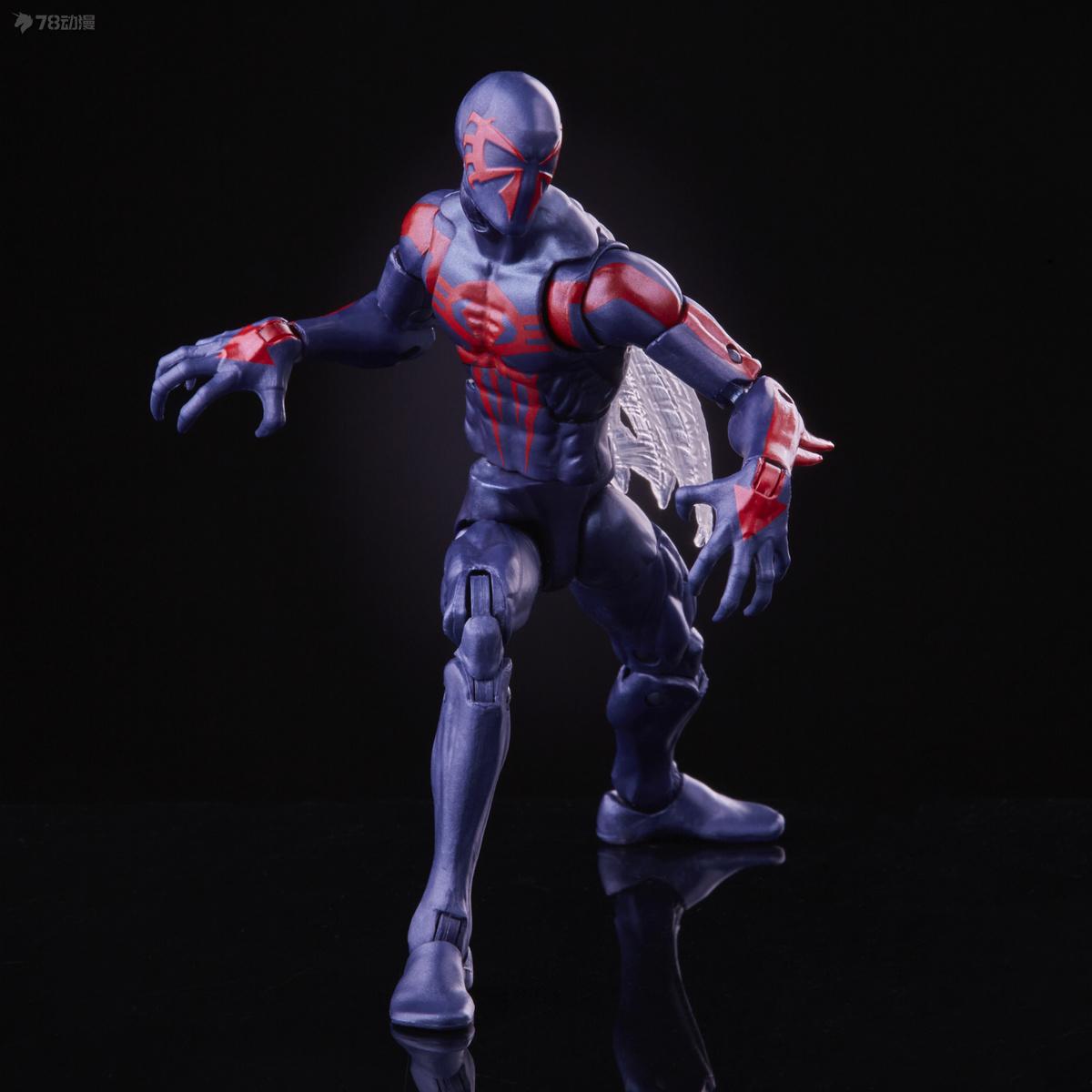 孩之寶 新品 Marvel Legends蜘蛛俠動畫 復古包裝系列 蜘蛛俠2099 可動人偶