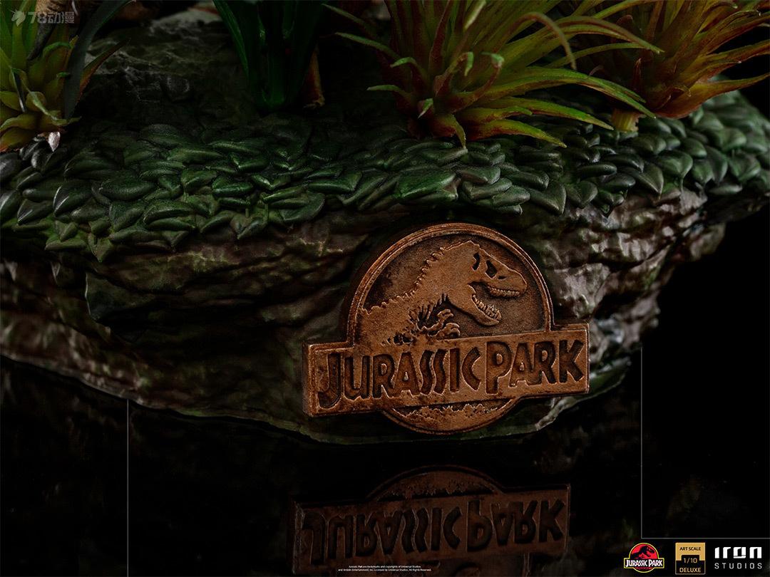 Iron Studios 新品 1/10系列 電影 侏羅紀公園 迅猛龍 200mm高 雕像