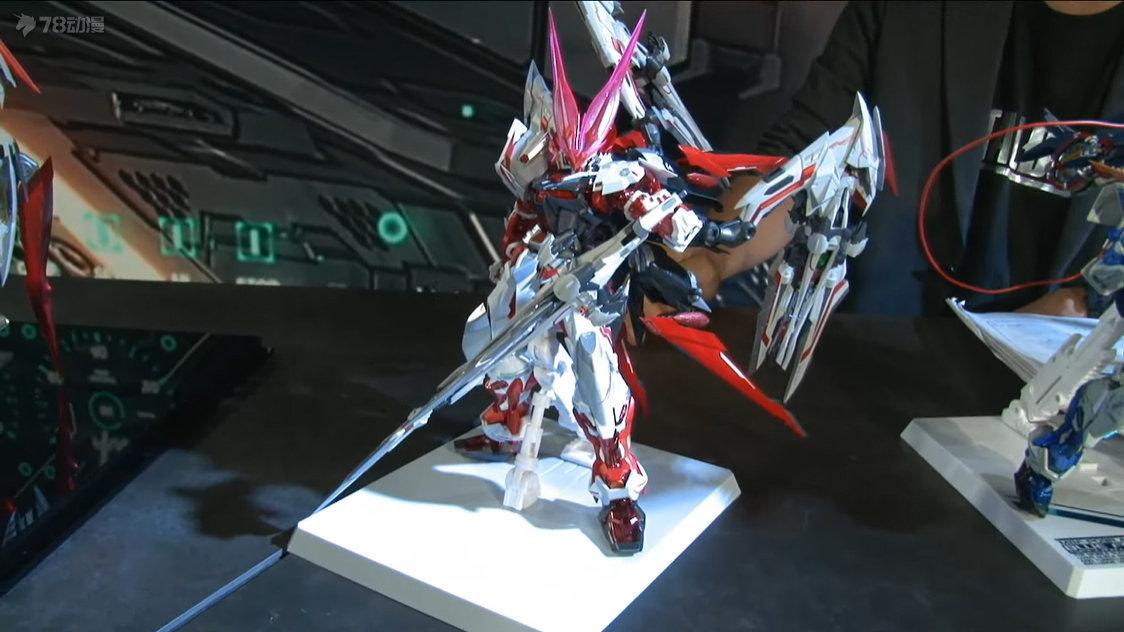 BANDAI : METAL BUILD 異端高達紅色機(紅龍nix形態) 試作品