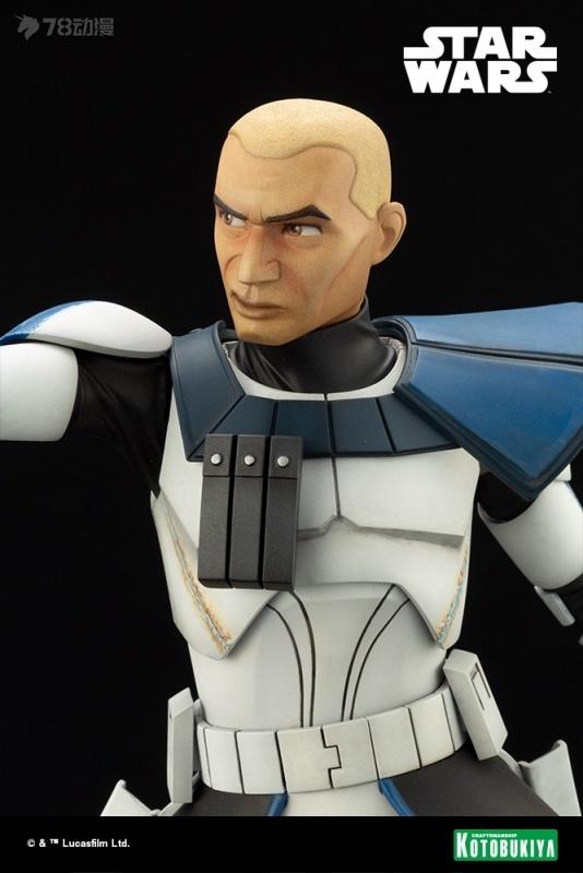 壽屋 新品 ARTFX系列 動畫 星球大戰 複製人戰爭 雷克斯隊長 雕像