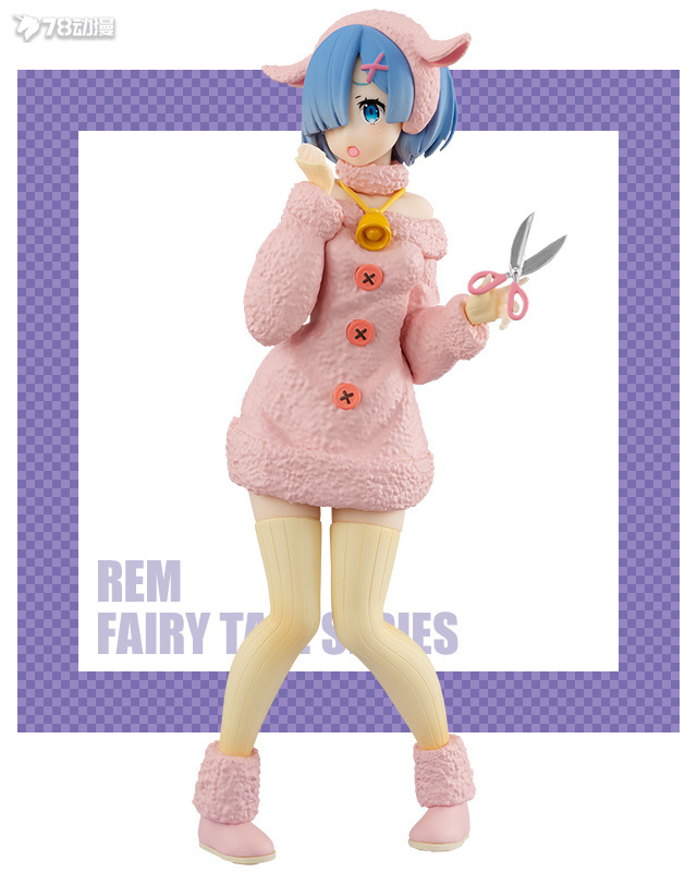 FuRyu: 21年8月 景品 SSS系列 《Re:0>》 童話故事 蕾姆-狼與七隻小山羊- 淺色ver.
