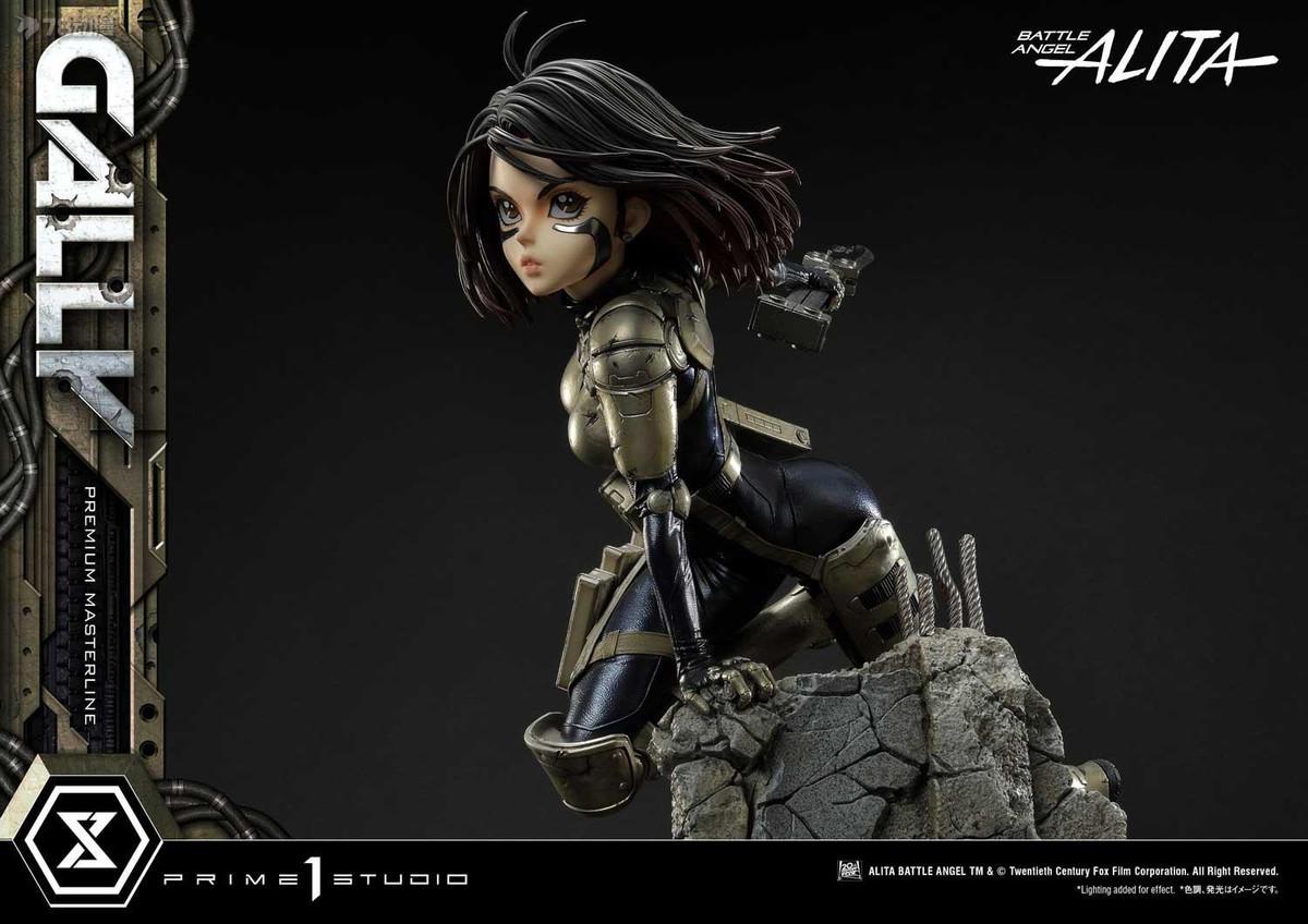 PRIME 1 STUDIO 新品 1/4系列 漫畫 漫畫 銃夢/戰鬥天使 凱麗 雕像 雙版本