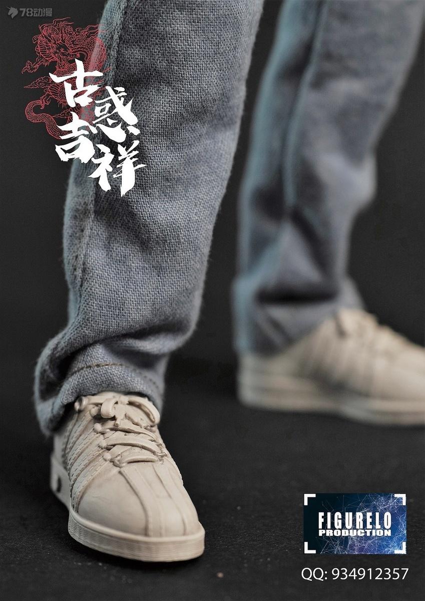公仔佬工作室 新品 1/6 古惑吉祥系列 祥Dee 可動人偶